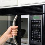 microwave maintenance - microwave door