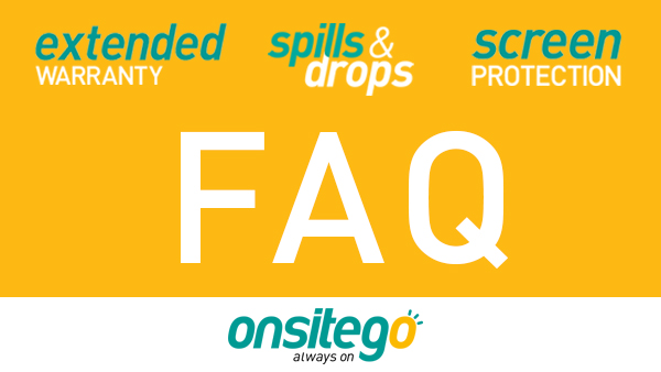 Answers to FAQs About OnsiteGo Protection Plans