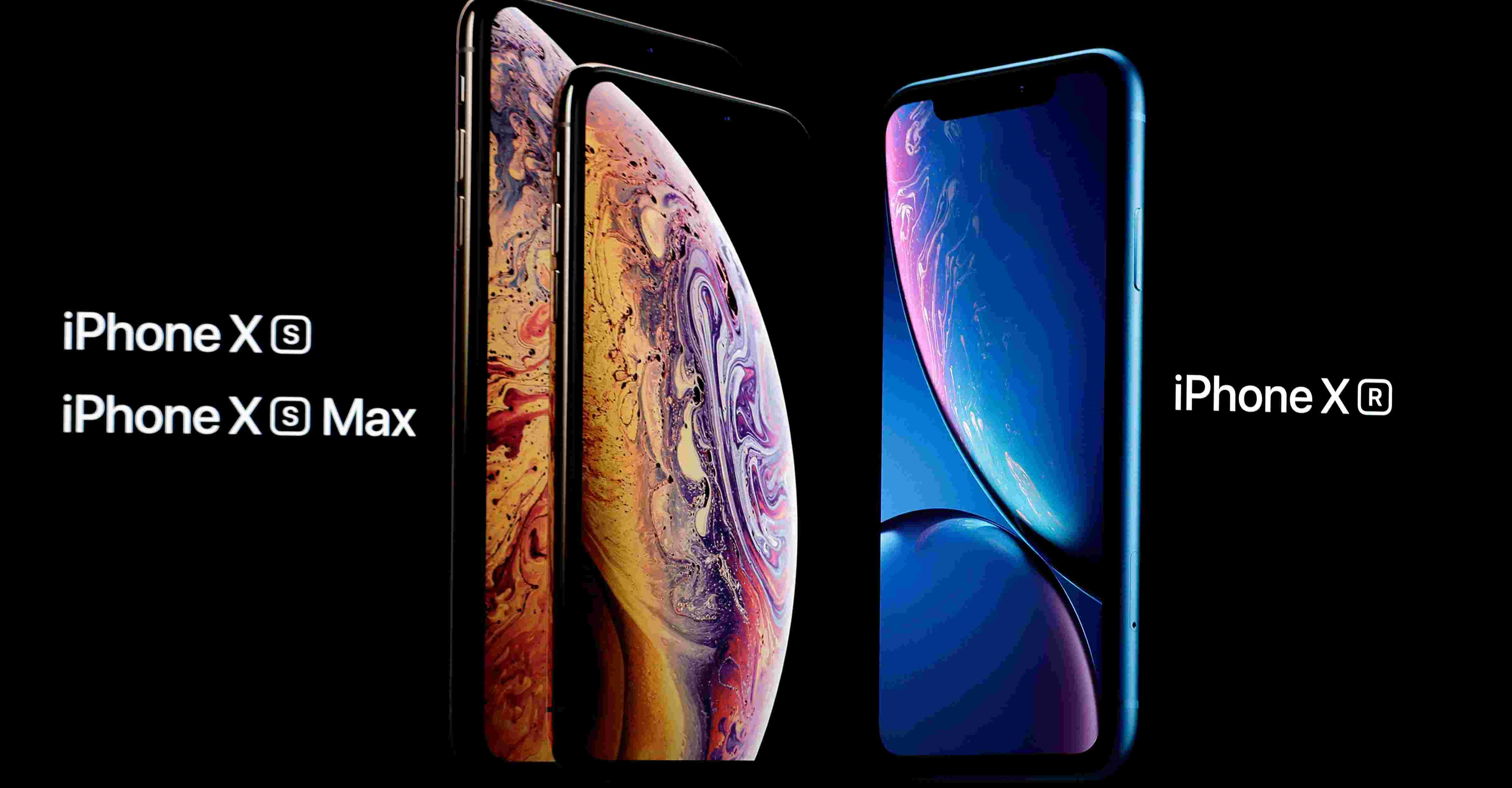 IPHONE XS, XS MAX AND XR: