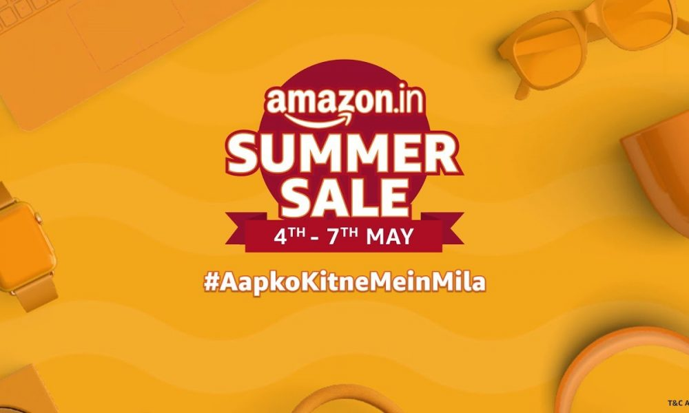 Amazon India Summer Sale 2019: Up To 60% Off On Electronics