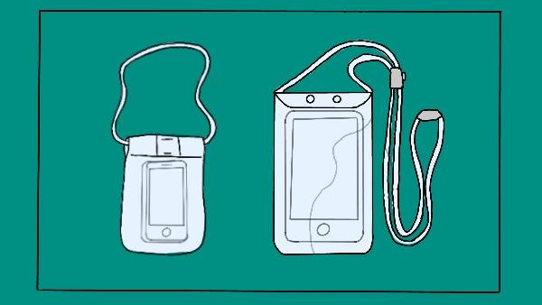 Avoid A Waterproof Mobile Pouch