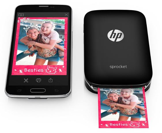 HP Sprocket photo printer for this Mother's Day