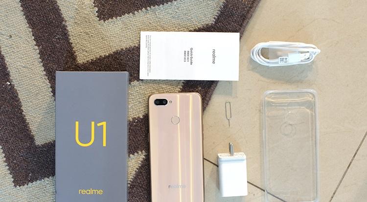 Realme U1 budget smartphone