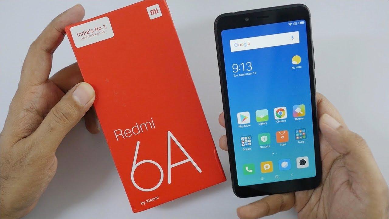 Budget smartphone Redmi 6A