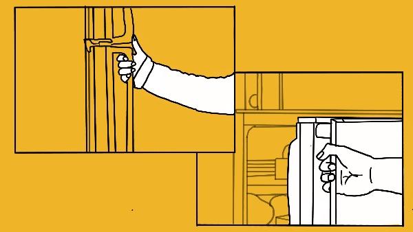 Close The Refrigerator Door Properly