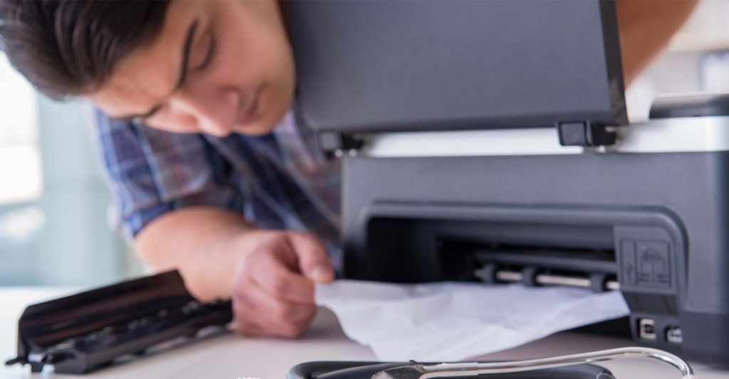 Printer Jammed Paper