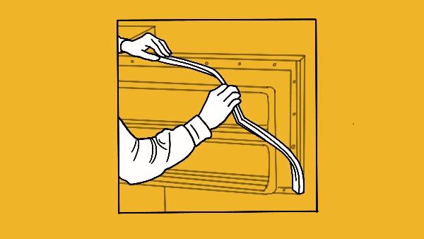 Replace The Door Gasket If Required width=