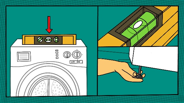 Is Your Washing Machine Levelled? width=