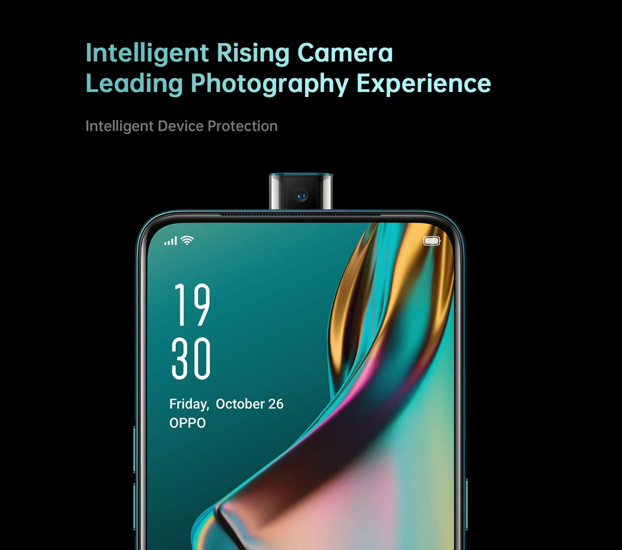 The Oppo K3 will come with a pop-up selfie camera