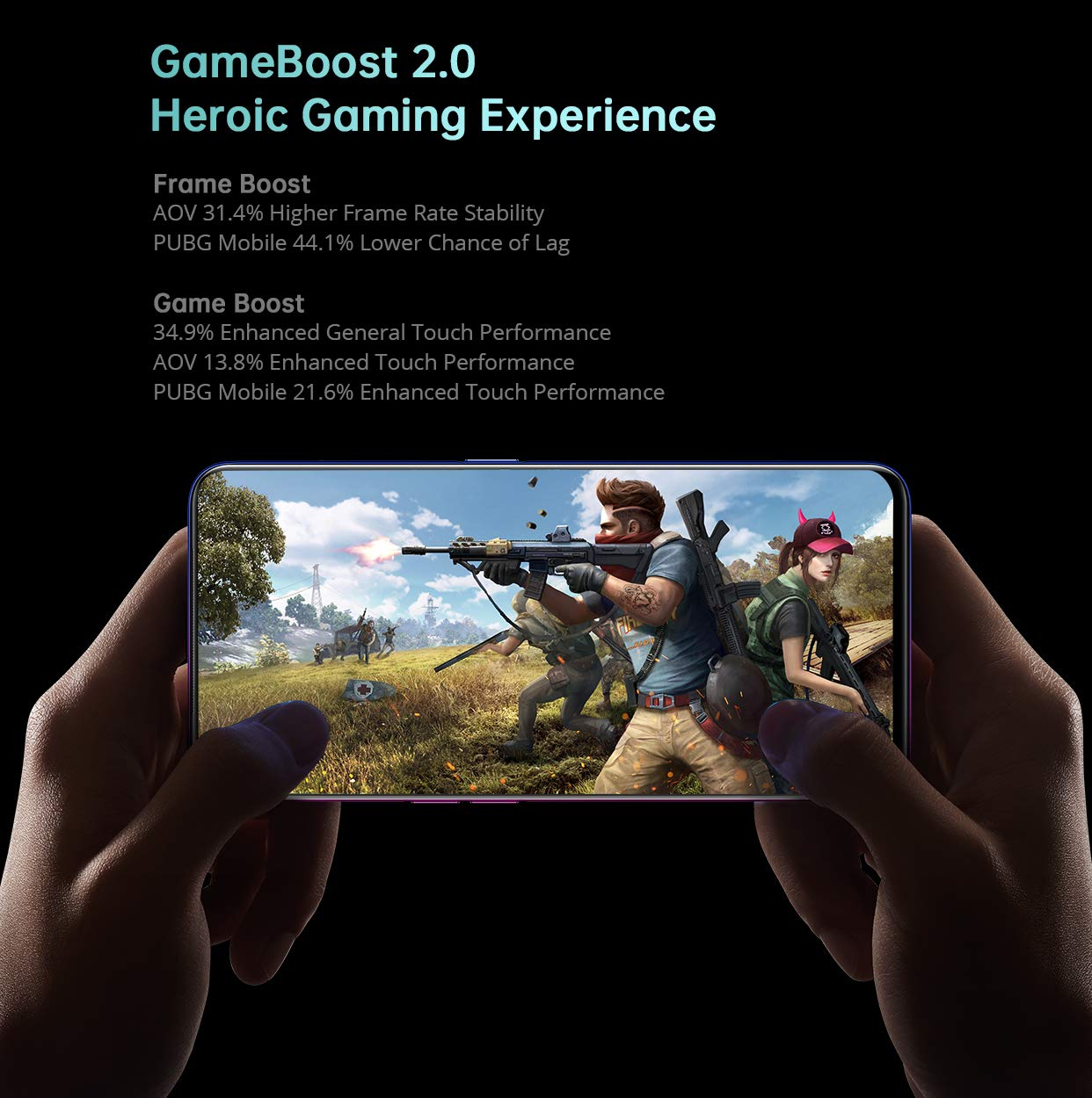 The Snapdragon 710 processor and Adreno 616 graphics should make this a decent gaming device