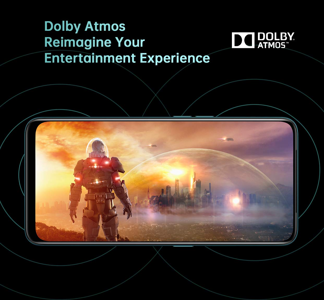 Dolby Atmos audio, VOOC 3.0 fast charging, and BT 5.0 make this an all-rounder