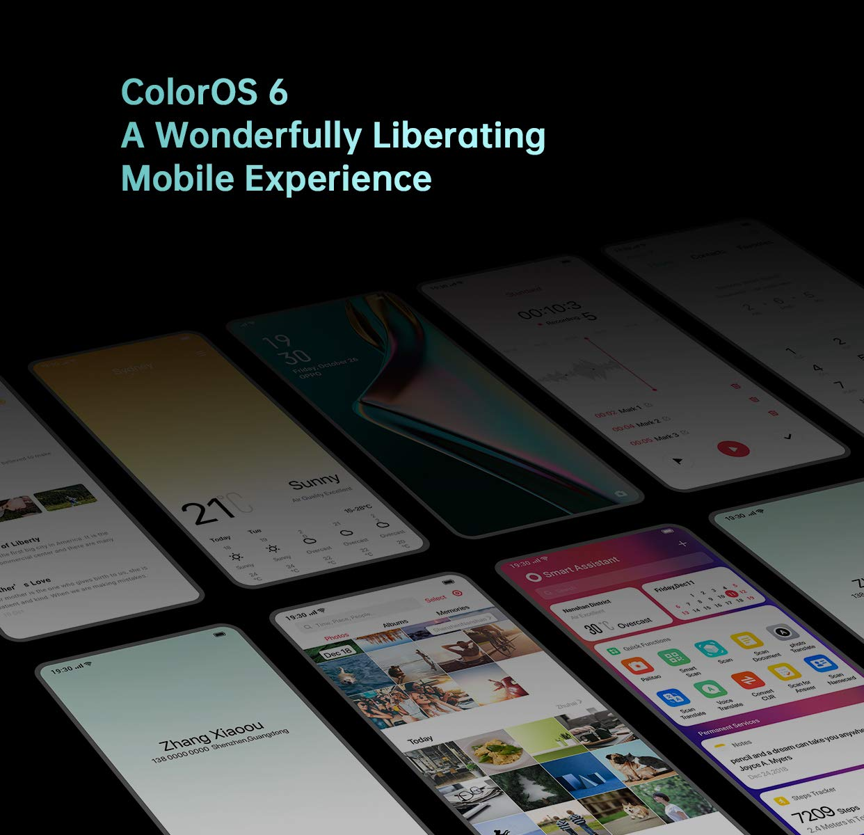 ColorOS 6 (based on Android 9 Pie) is feature packed