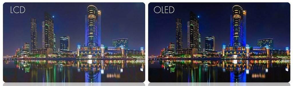 IPS or OLED display