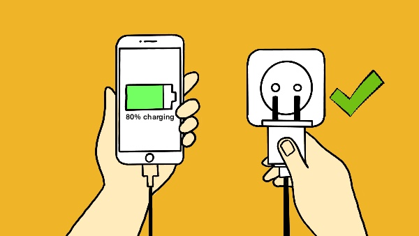 Never Unplug The Phone Unless it's 80% Charged