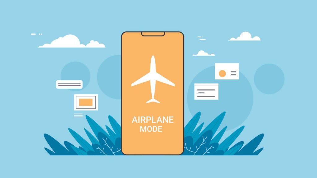 Smartphone AirPlane Mode