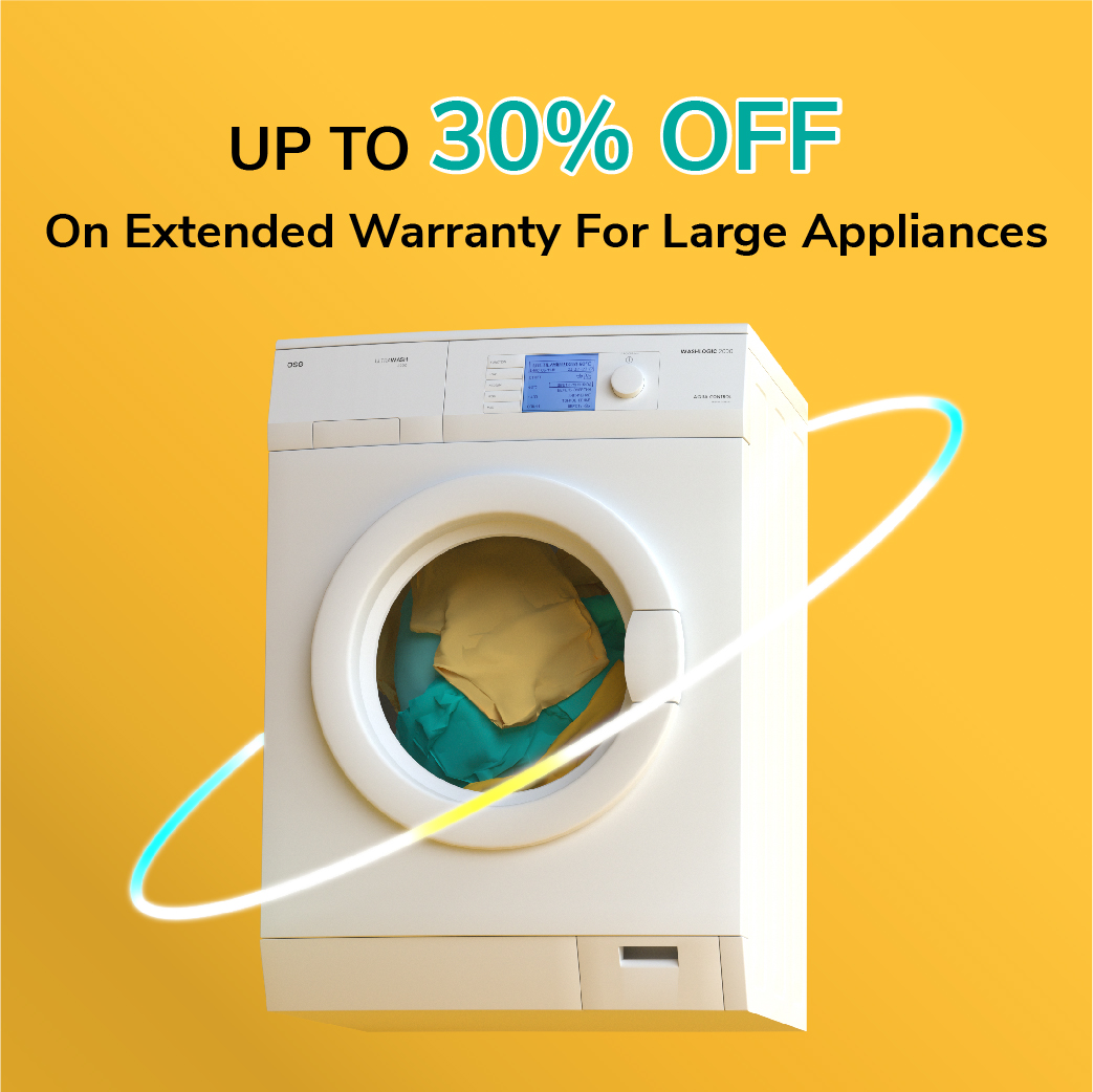 Up To 30% Off On Large Appliances For Onsitego Plans