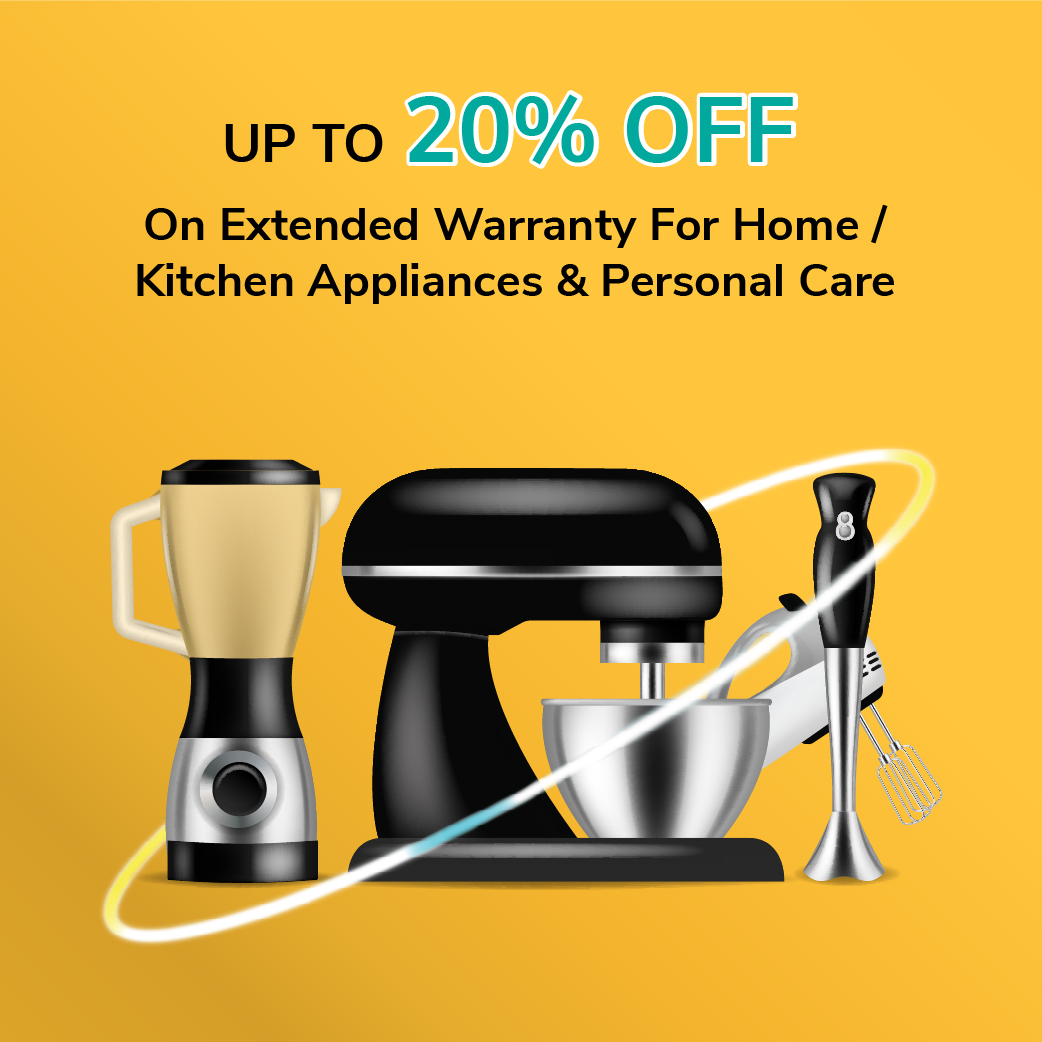 Up To 20% Off On Home / Kitchen Appliances And Personal Care For Onsitego Plans