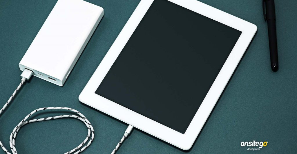 Tablet Charging Using Power Bank