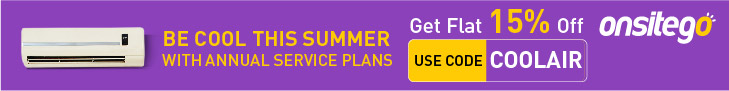 OnSiteGo Air Conditioner Annual Maintenance Plan Discount Code