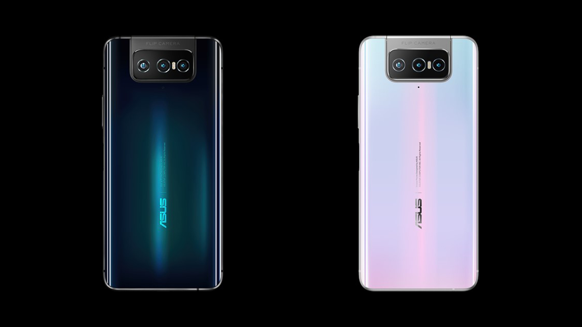 ASUS ZenFone 7 Pro Rear Design Colors