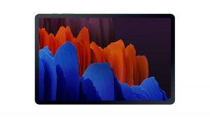 Samsung Galaxy Tab S7 Plus Display Front Design Mystic Black