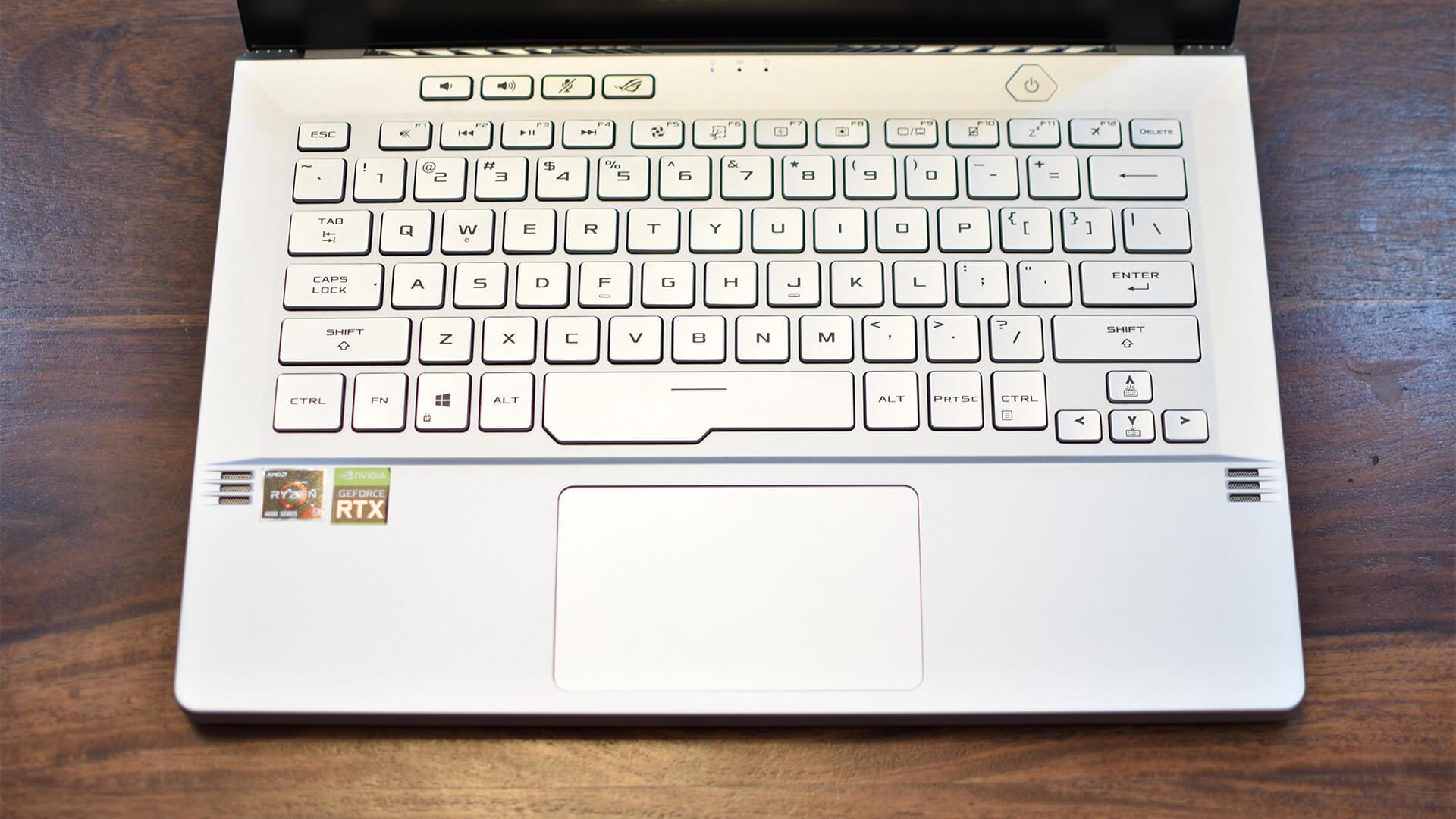 ASUS ROG Zephyrus G14 Keyboard Trackpad Fingerprint Reader