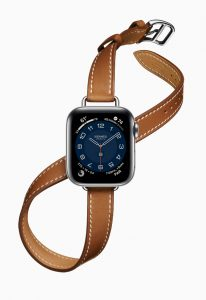 Apple Watch Hermes Series 6 Attelage Double Tour