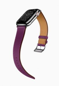 Apple Watch Hermes Series 6 Attelage Single Tour Purple