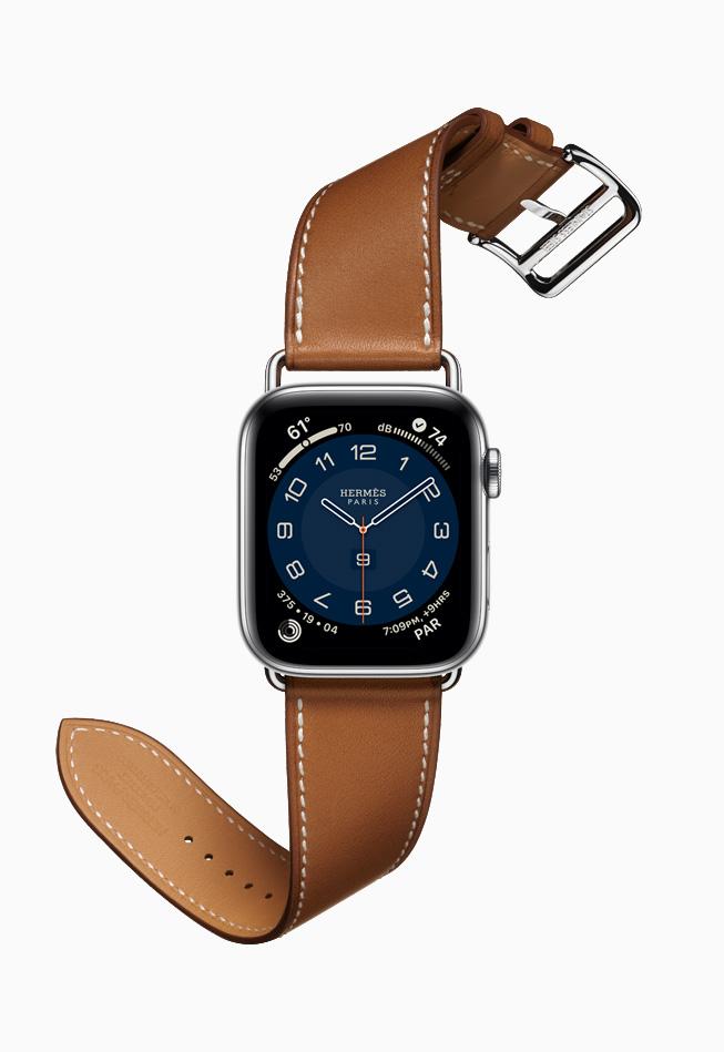 Apple Watch Hermes Series 6 Attelage Single Tour