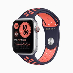 Apple Watch Nike Series 6 Sport Band Black Red
