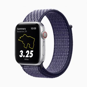 Apple Watch Nike Series 6 Sport Loop Purple