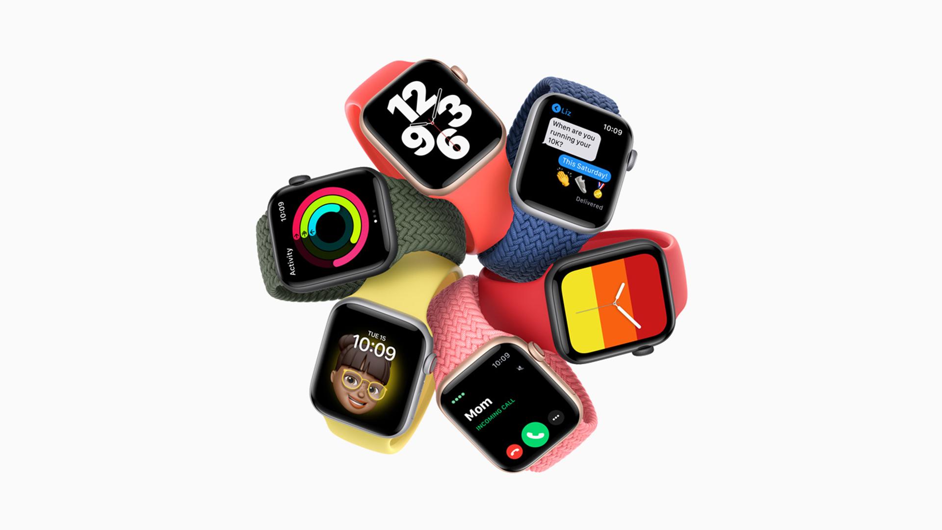 Apple Watch SE Colours