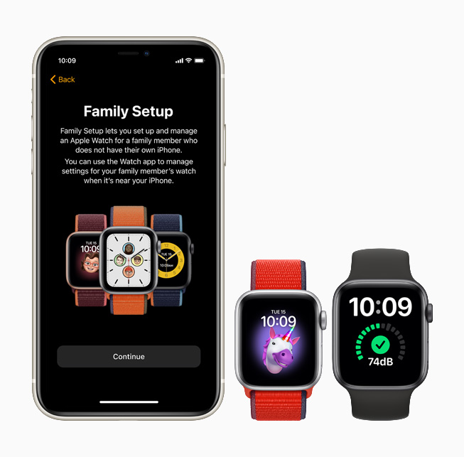 Apple Watch SE WatchOS 7 Family Setup