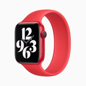 Apple Watch Series 6 Aluminium PRODUCT(RED) Solo Loop