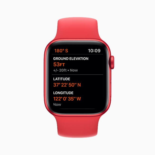 Apple Watch Series 6 Always-On Altimeter