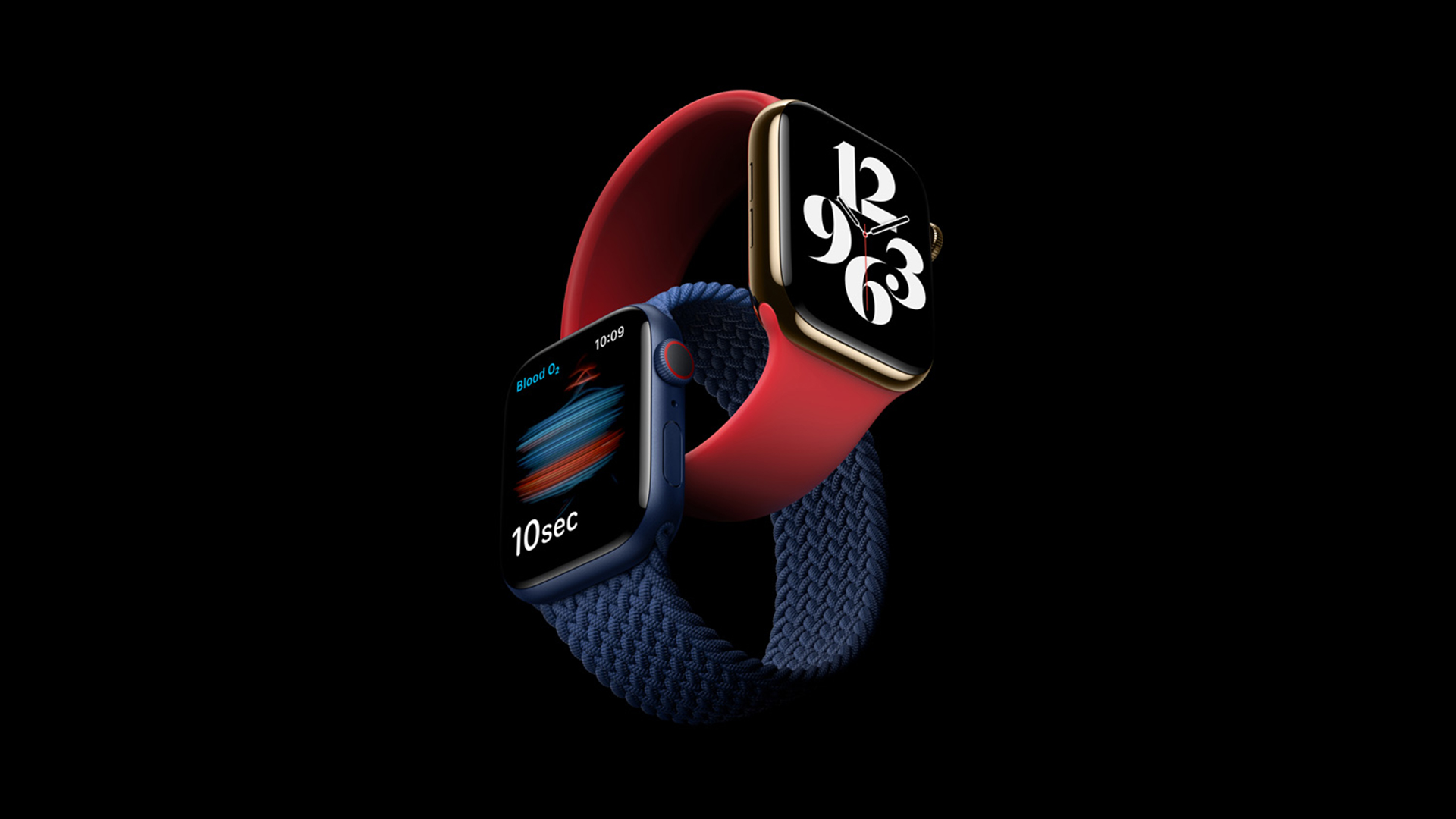 Apple Watch Series 6 Blue (PRODUCT)RED Colours