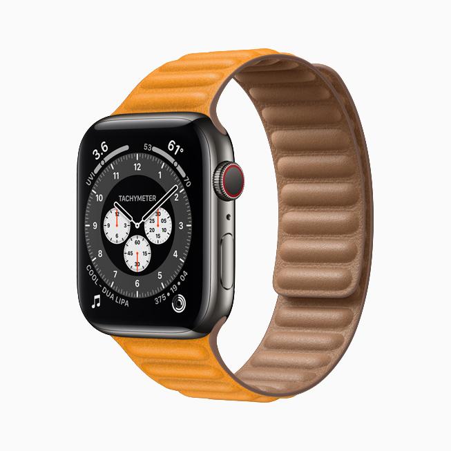 Apple Watch Series 6 Stainless Steel Graphite