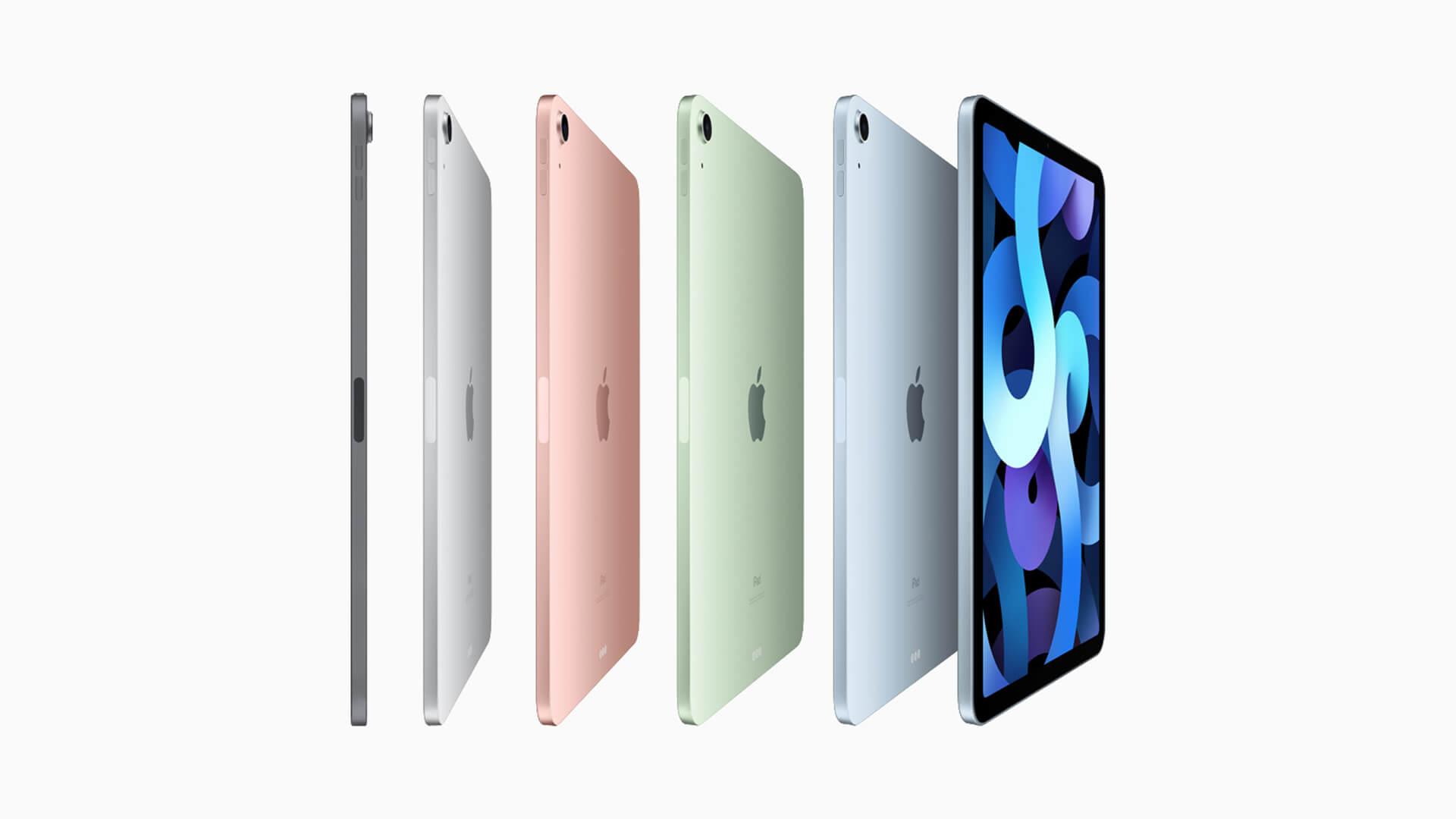 Apple iPad Air 2020 Colours
