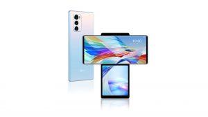 LG Wing 5G Illusion Sky