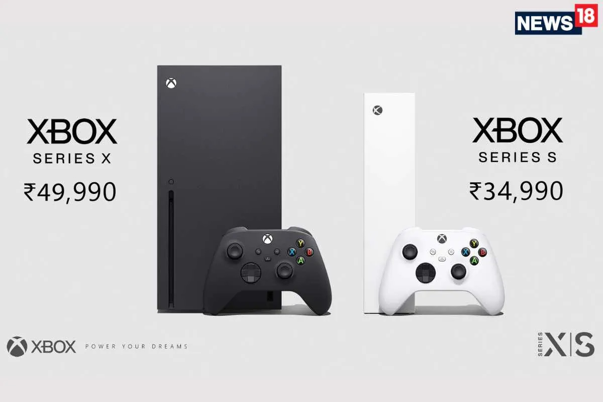 Microsoft Xbox Series S And Xbox Series X India Price