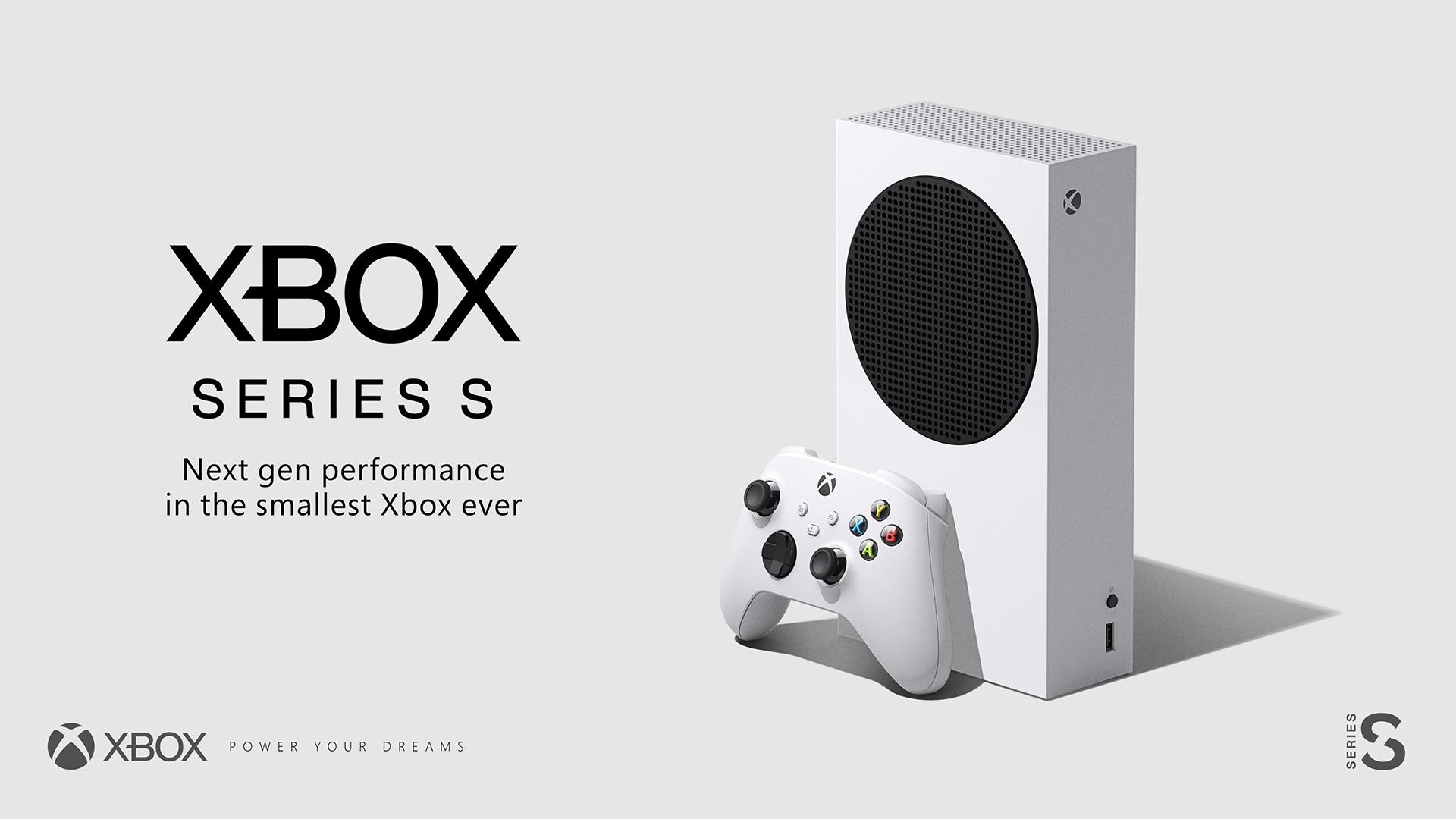 Microsoft Xbox Series S Chalk White