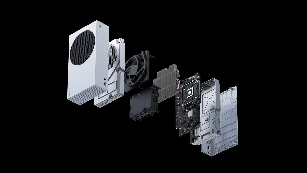 Microsoft Xbox Series S Internals Exploded View
