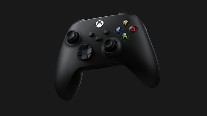 Microsoft Xbox Series S X Wireless Controller Matte Black