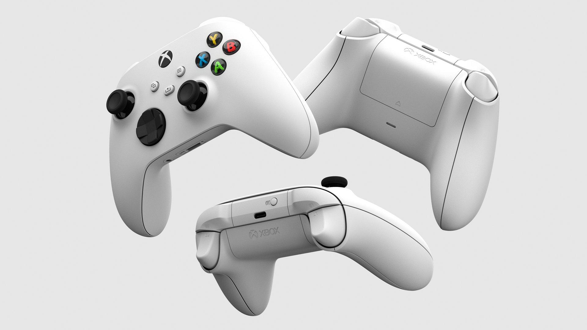 Microsoft Xbox Series S X Wireless Controller USB Type-C Port AA Batteries