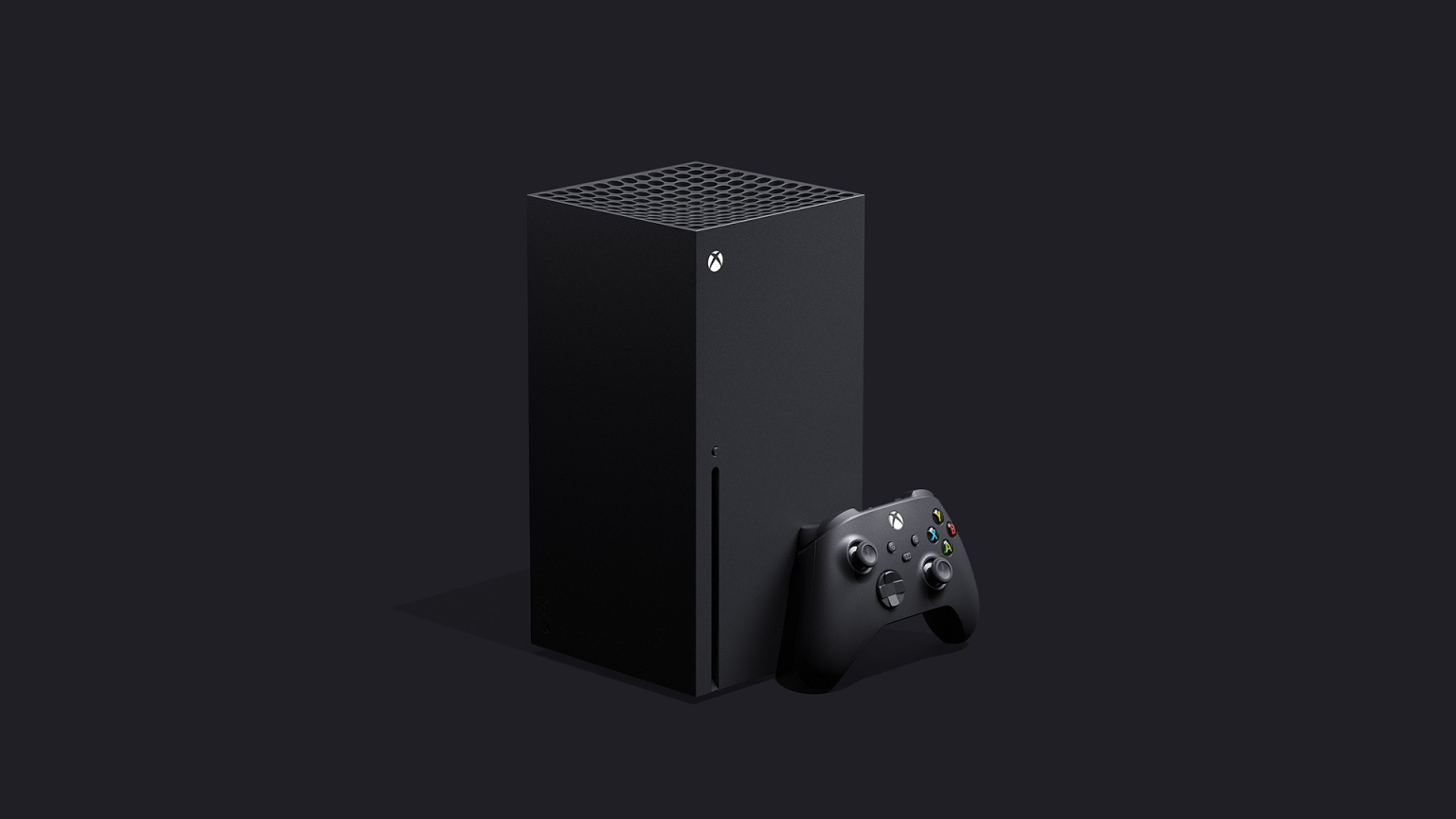 Microsoft Xbox Series X Matte Black With Controller