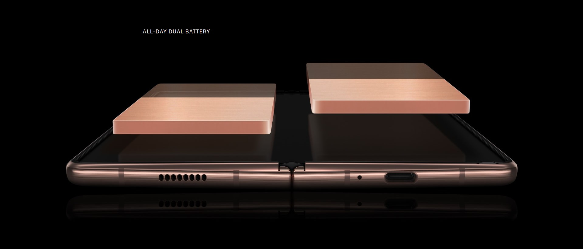 Samsung Galaxy Z Fold 2 Dual Battery