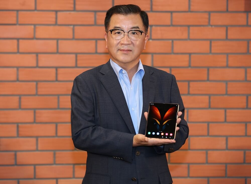 Samsung Galaxy Z Fold 2 India Launch By Samsung South West Asia CEO Ken Kang