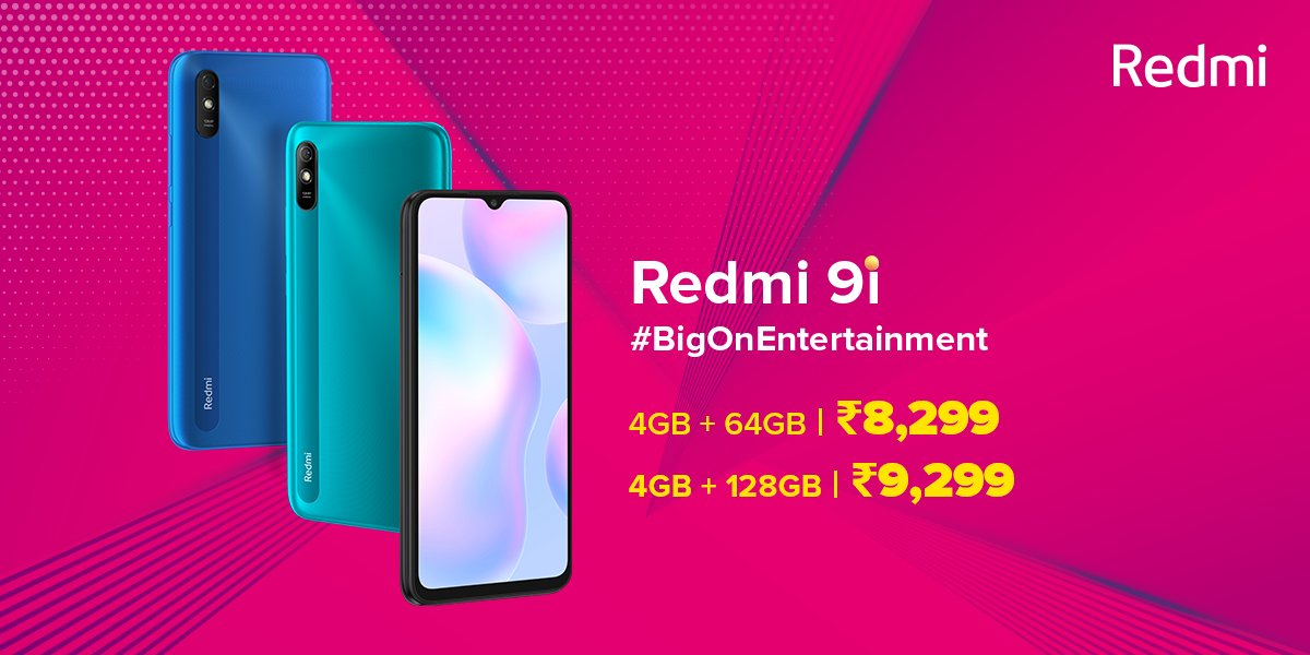Xiaomi Redmi 9i Price In India
