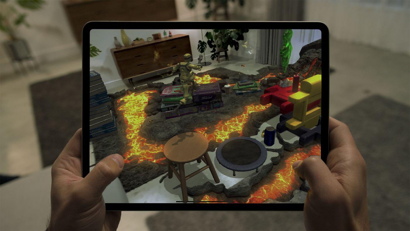 Apple iPad Pro Gaming Performance LiDAR