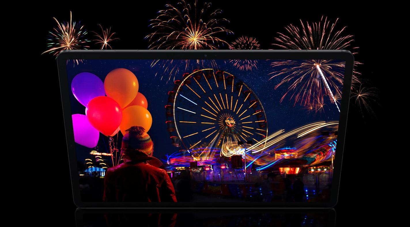 Samsung Galaxy Tab S7+ HDR Screen